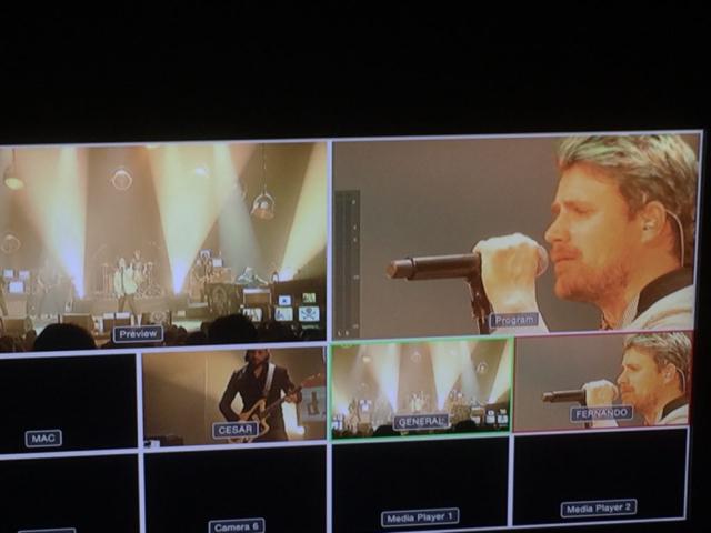 realización audiovisual facebook live