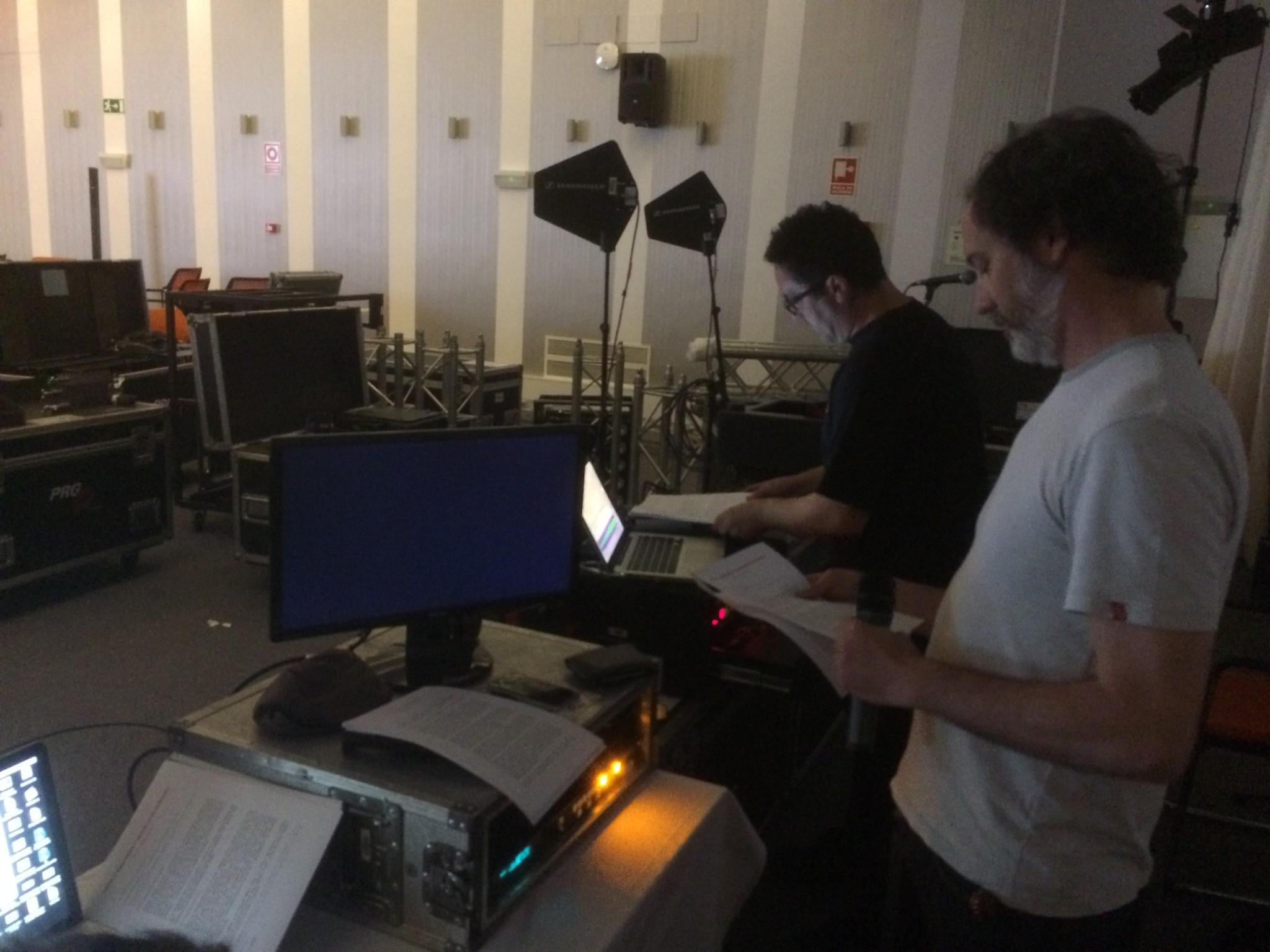 Preparando los guiones y la escaleta
