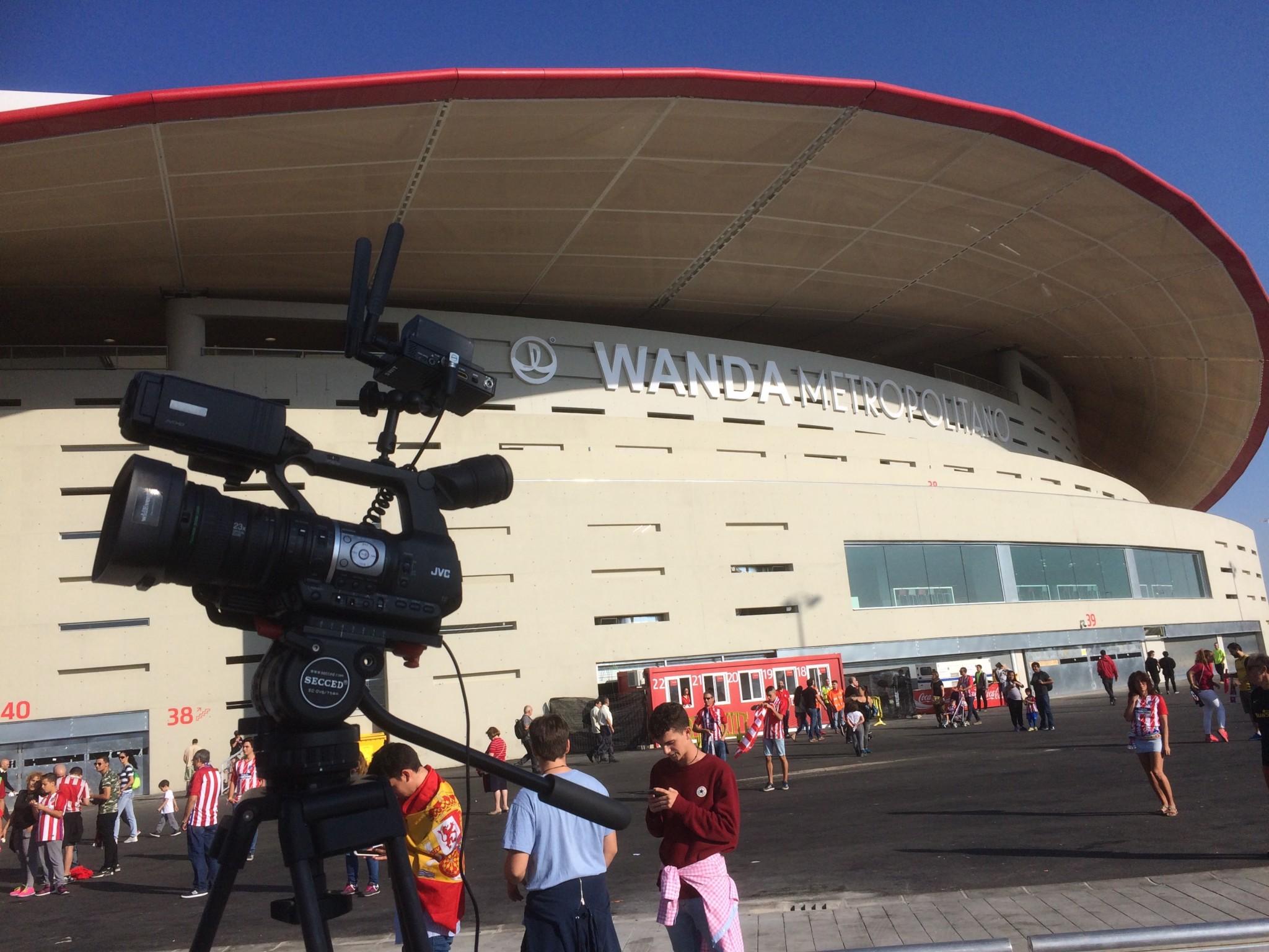 Retransmisión de concierto del Wanda Metropolitano 10