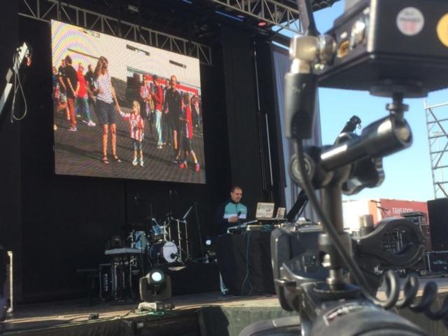 Retransmisión de concierto del Wanda Metropolitano 6