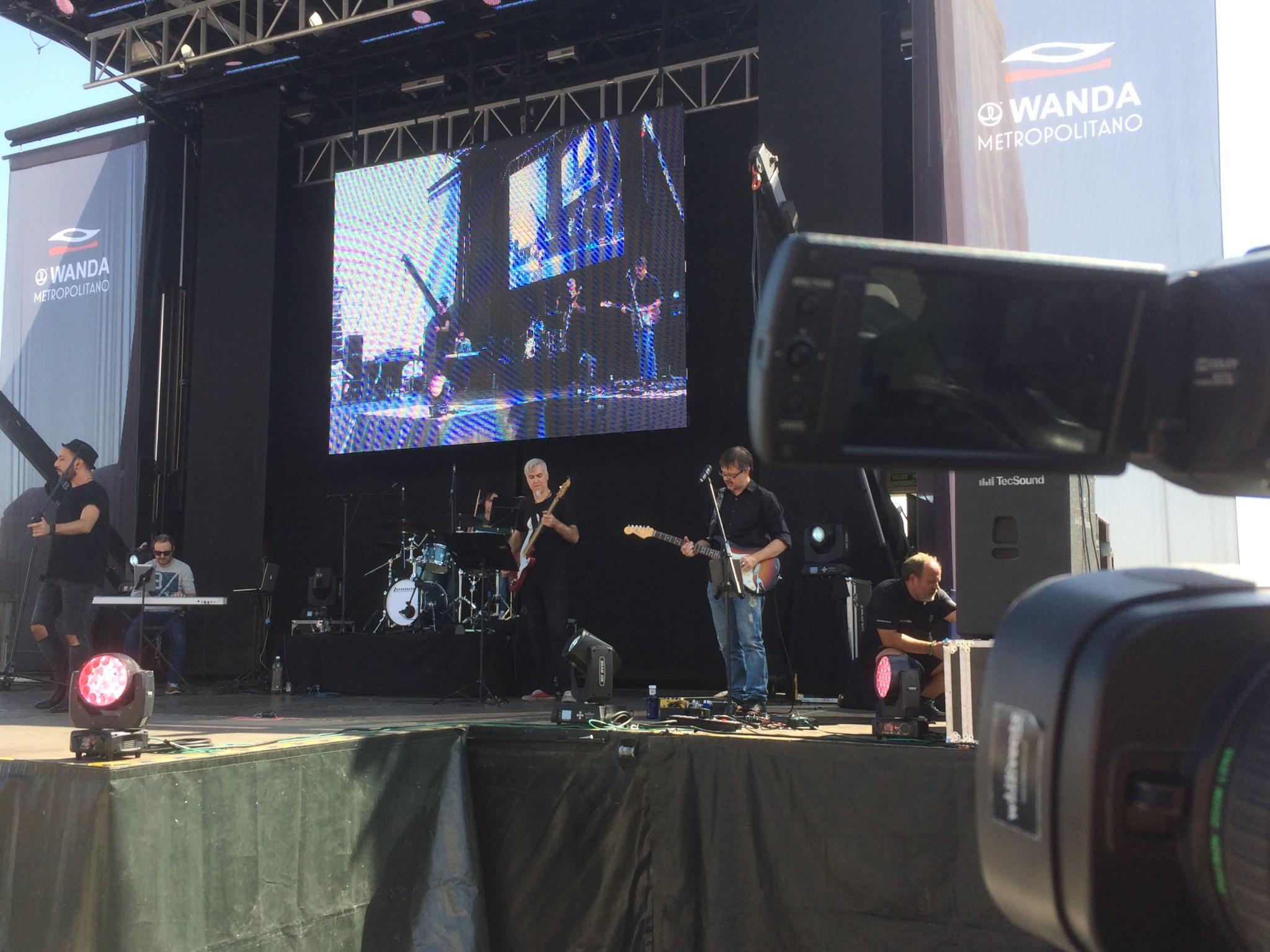 Retransmisión de concierto del Wanda Metropolitano 5